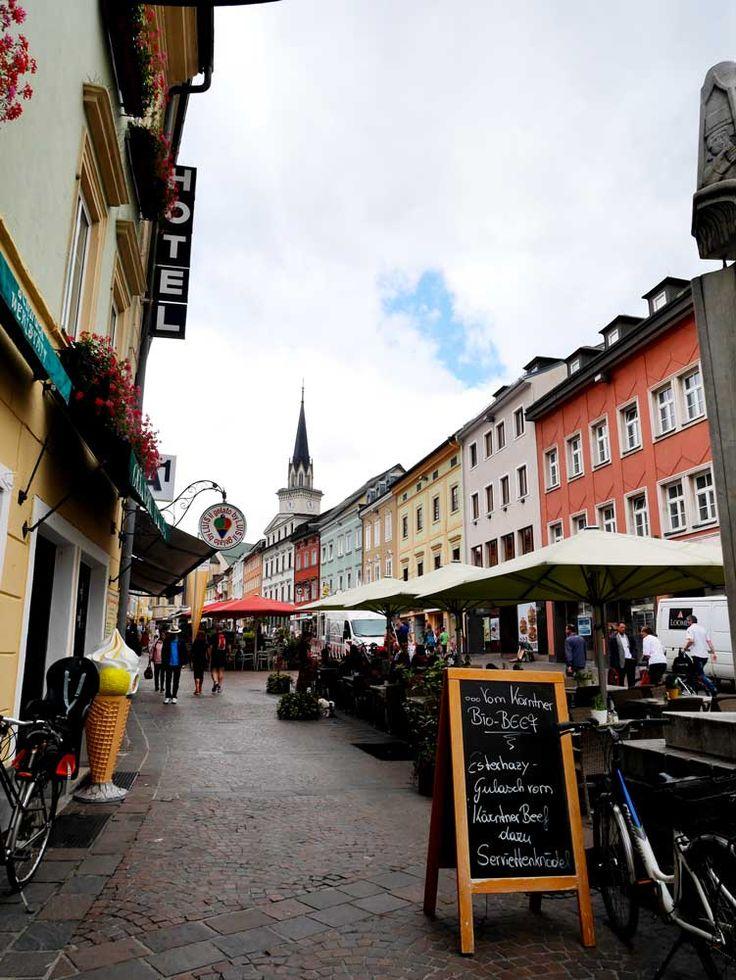 Hauptplatz, Villach, Austria | Laugh Travel Eat