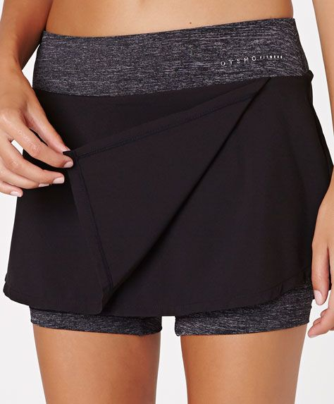 Skirt with inside shorts - OYSHO