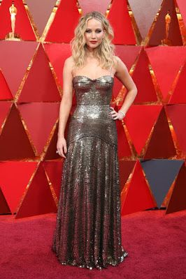 Jennifer Lawrence @ Oscars 2018