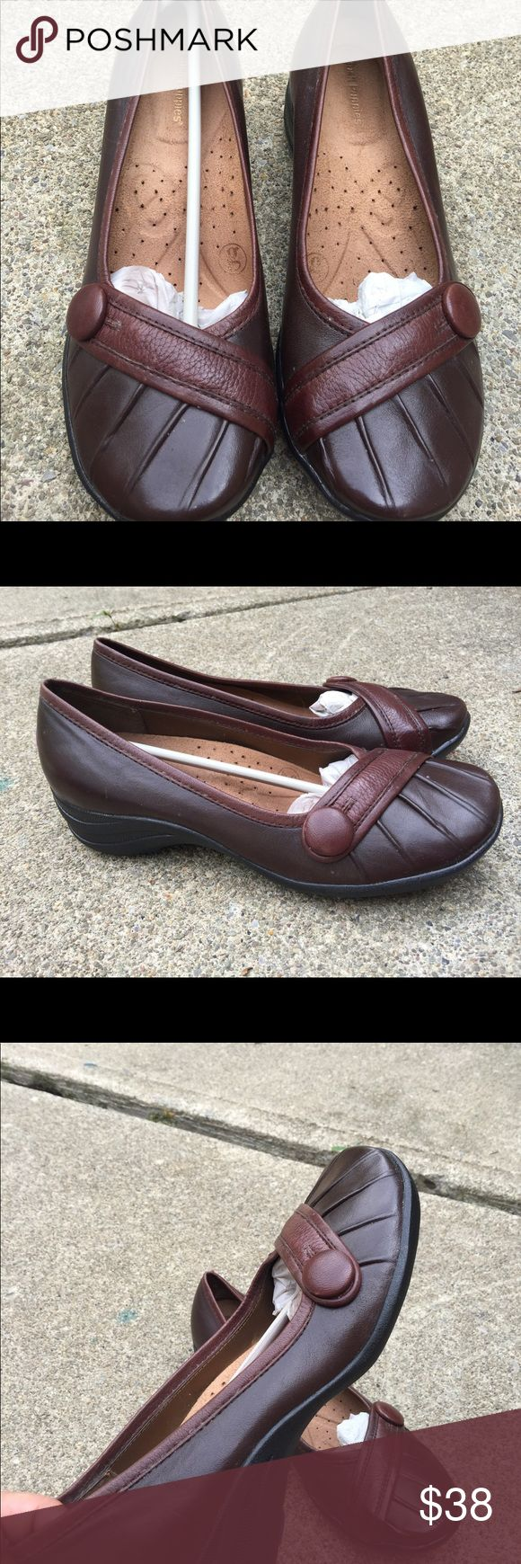 Women's Hush Puppies Brown Leather Shoes Size 7W Women's Hush Puppies Brown Leather Shoes Size 7W. NWOT. #3 Hush Puppies Shoes Flats & Loafers