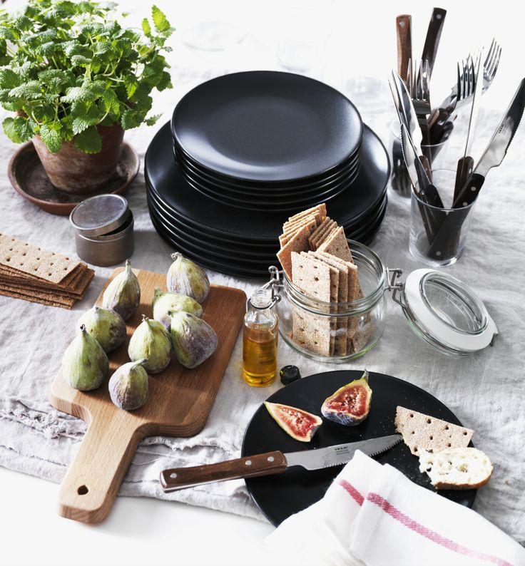 DINERA servies. Stel je favoriete keukenbordje samen en maak kans op een cadeaupas ter waarde van 100.-! Klik op de link voor meer informatie. http://www.pinterest.com/ikeanederland/keukens/ #IKEAwin