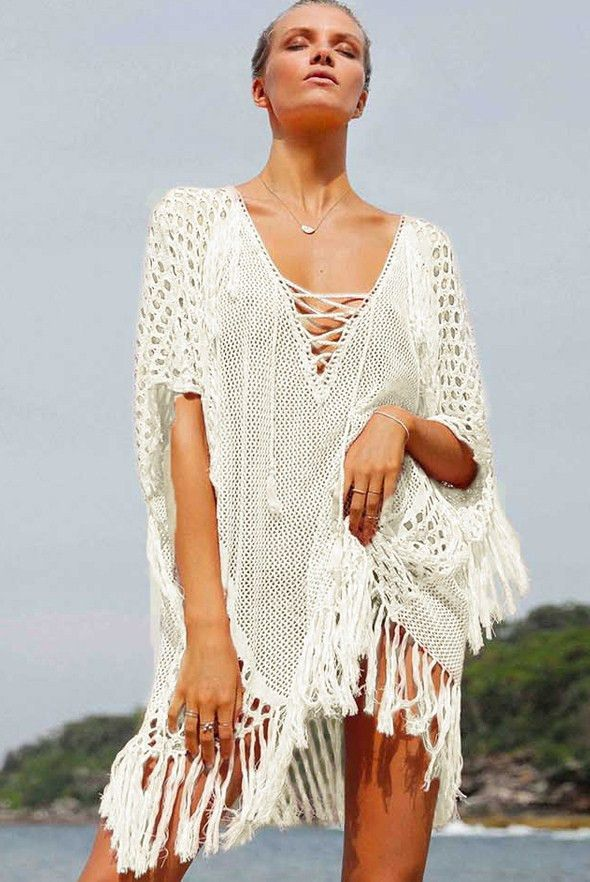 d21418c87 Image result for supplier of v-neck shape chiffon kaftan  beach cover ups  from India