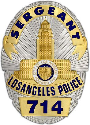 Joe Friday's Dragnet LAPD Badge | Badges: Some Famous, Some ...