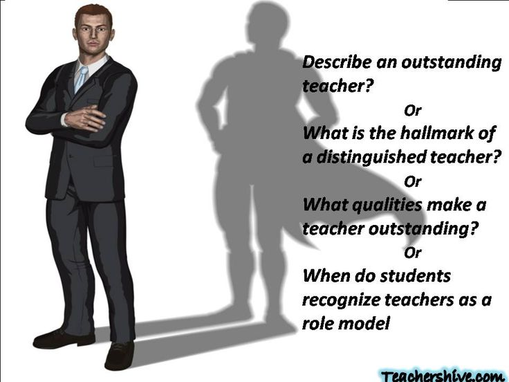 Essay on teacher our role model