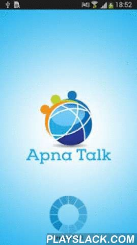 Apnatalkvox  Android App - playslack.com , Apnatalkvox is the Mobile Dialer that allows to make VoIP calls from any of the android devices and it uses 3G/Edge/Wi-Fi Internet connectivity. It is developed based on the requirements of VoIP Providers business needs.Apnatalkvox Features:-It uses SIP protocol based for signalingSupports G729, PCMU, and PCMA codecsRuns behind NAT or Private IPApnatalkvox User Friendly InterfaceAuto Sync of BalanceReal Time Sip status messagesCall HistoryAddress…