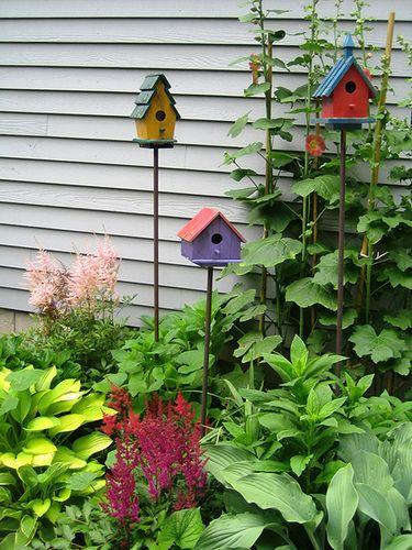 Cute Little Birdhouses