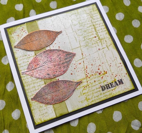 PaperArtsy: 2017 #15 Pearlescent: Autumn Cards with ELB {by Alison Hall}