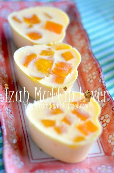 Izah Muffin Lover: Puding Mangga Kak Shiela