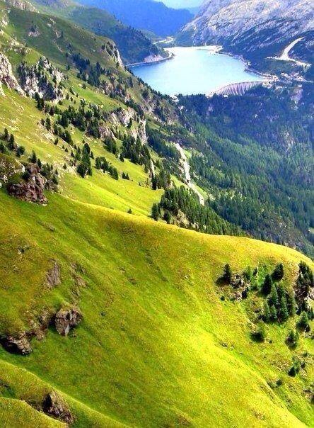 #scenery #beauty #mountains #sky #summer