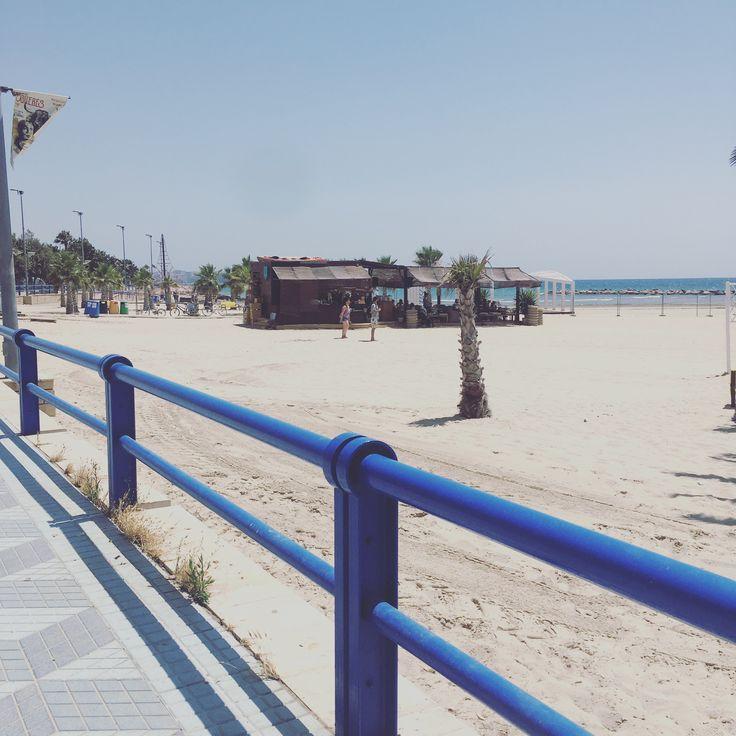 Alicante beach, Spain