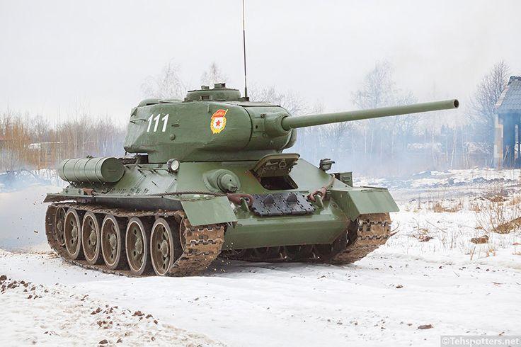 T-34-85 from Kubinka tank museum.