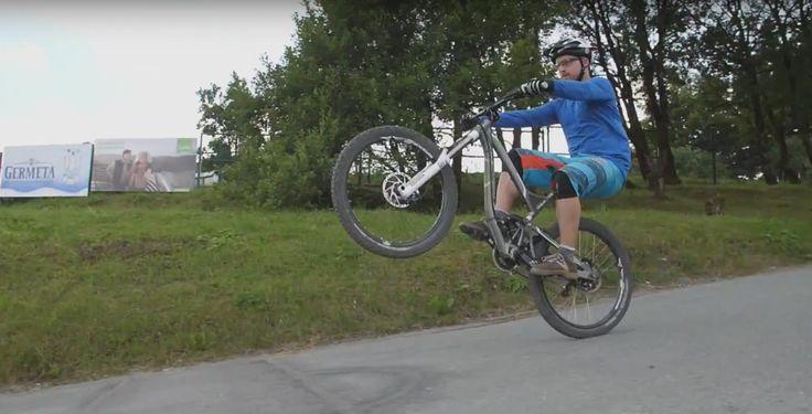 So fährst du auf dem Hinterrad - In einer weiteren Folge der TK-Mountainbike-Fahrschule lernst du, wie du es schaffst, einen Wheelie zu fahren.