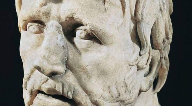 """""""Nicht weil es schwierig ist, wagen wir es nicht, sondern weil wir es nicht wagen, ist es schwierig."""" - Lucius Annaeus Seneca (4 v. Chr. - 65 n. Chr.)"""