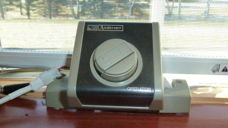 Anderson Electric Window Operator Installed ~ http://lanewstalk.com/installing-casement-window-air-conditioner/