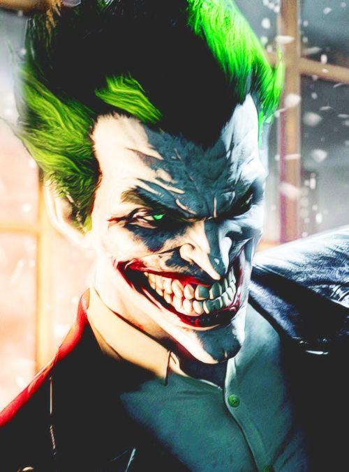 The Joker from the batman game Batman: Arkham Origins. He's one weird character.