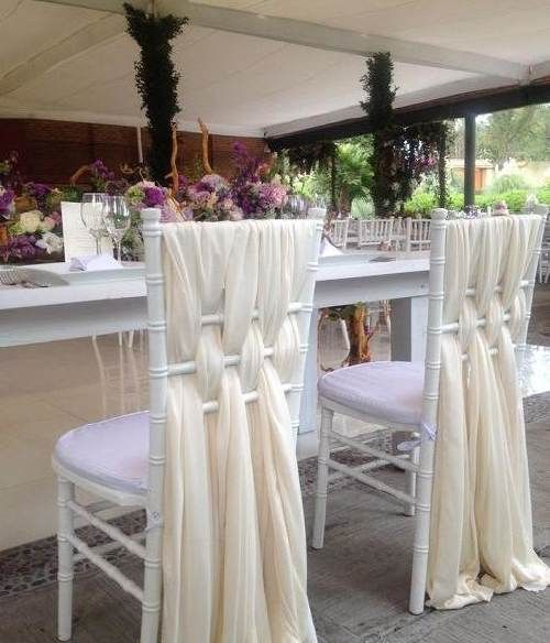 17 mejores ideas sobre decoraciones de boda modernas en for Sillas elegantes modernas
