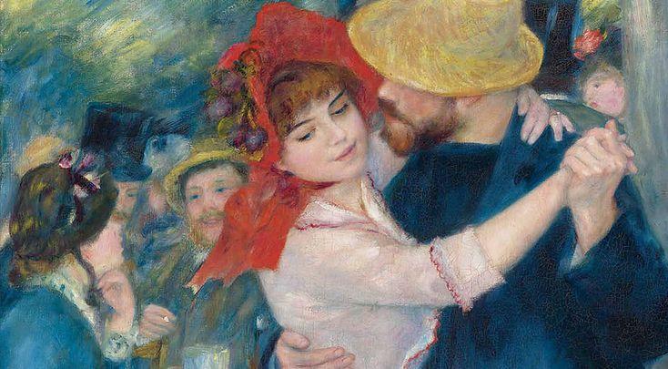 Raffaello verso Picasso.  Storie di sguardi, volti e figure.    Pierre-Auguste Renoir: La danse à Bougival (Danza a Bougival), 1883