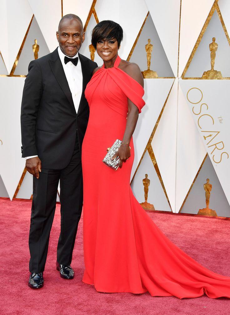 Viola Davis and  husband Julius Tennon
