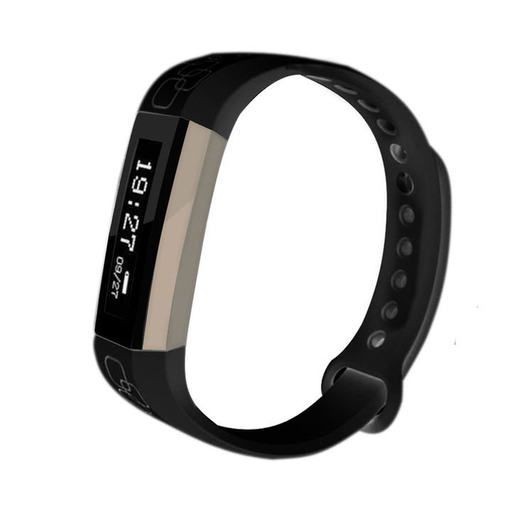 Wireless Fitness Band w/ Heart Rate Monitor - Black | Buy New Arrivals