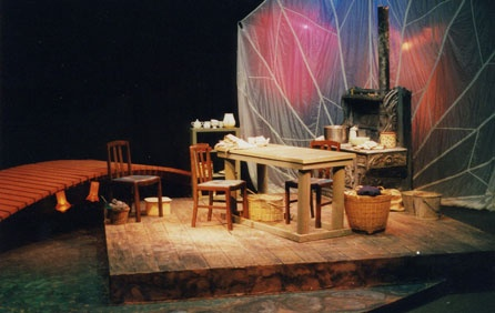 Dancing at Lugnasa - Dreamweaver's Theatre  Set and Lighting Design by Colin Kaminski