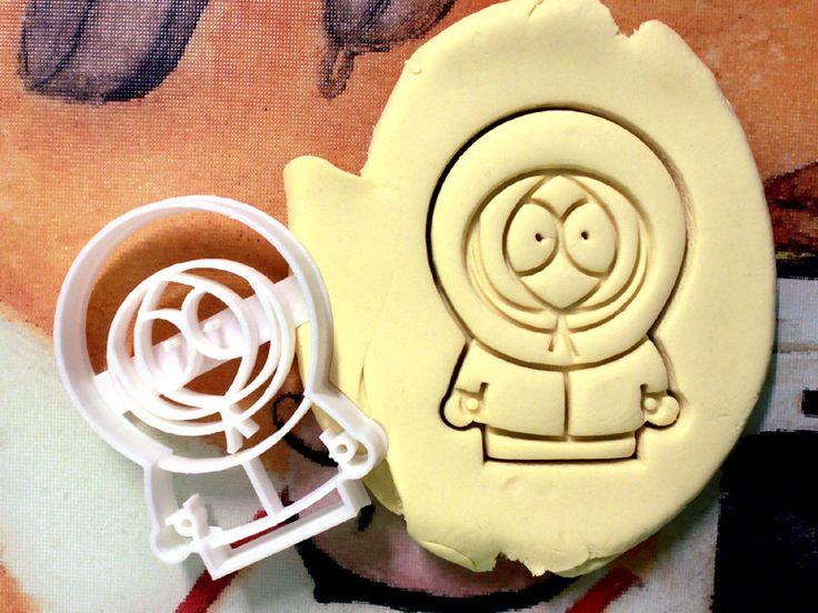 Emporte-pièce de Kenny de South Park - en matériau biodégradable par StarCookies sur Etsy https://www.etsy.com/fr/listing/203627015/emporte-piece-de-kenny-de-south-park-en