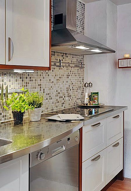 Cozinha Revestindo A Parede Da Pia E Fog 227 O Pastilhas