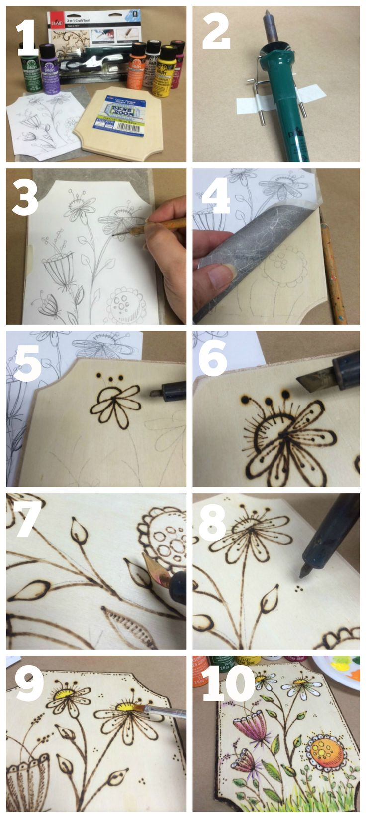 DIY Wood Burning: How To Tips & Project Patterns