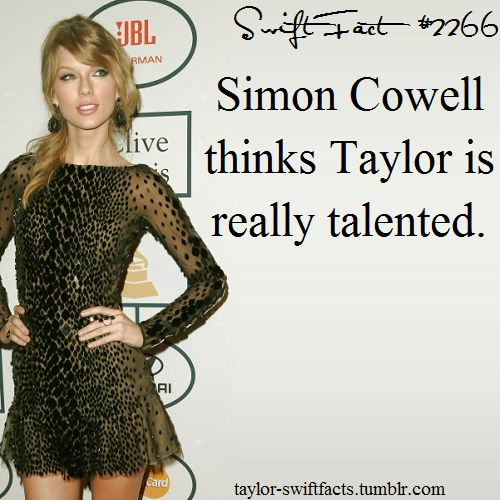 NOW THAT PROVES IT!!!! YOU CAN SUCK IT HATERS BECAUSE THE WORLD'S TOUGHEST MAN TO PLEASE THINKS TAYLOR IS REALLY TALENTED!!!!! THAT IS THE HIGHEST HONOUR!!! SO PROUD ❤-J. Swan
