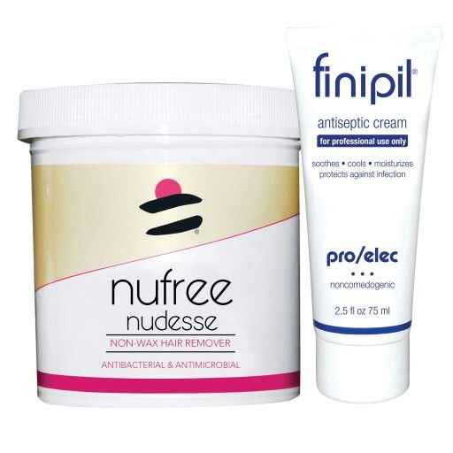 Nufree and Finipil work wonderfully together in that the hair is removed with the soy-based hair removal product then the antiseptic cream is used to calm and protect the empty hair follicle. Bare Bliss uses Nufree and Finipil for all facial and body waxing services so you get the safest service and best results. 509-961-6555 www.bareblissyakima.com #nufree #yakima #barebliss #hairfree #bodywaxing #fromheadtotoe #nomorehair #fullbodywaxing #malebodywaxing #hairremoval #bodywaxingyakima…