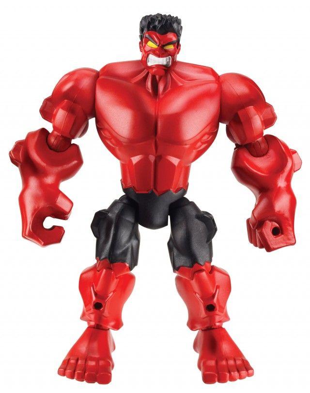 Marvel Mashers Series 3 Red Hulk Figure