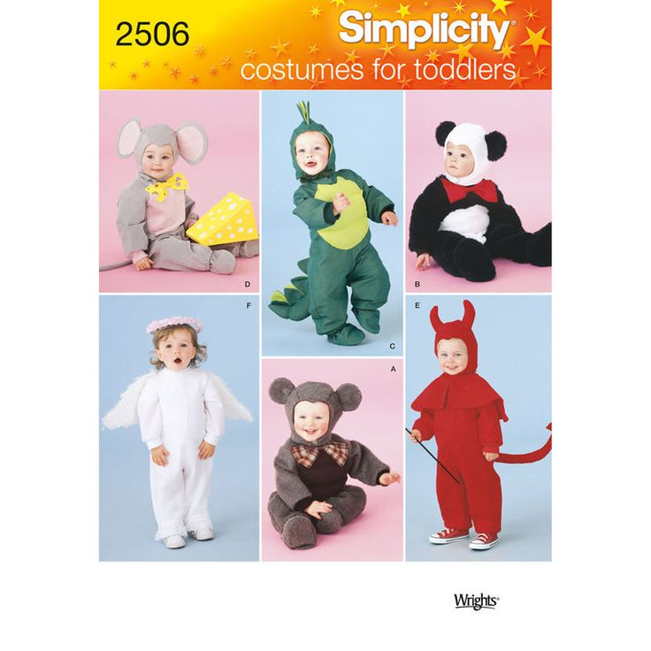 Simplicity Baby & Toddler Sewing Pattern 1032 Novelty Onesies ...