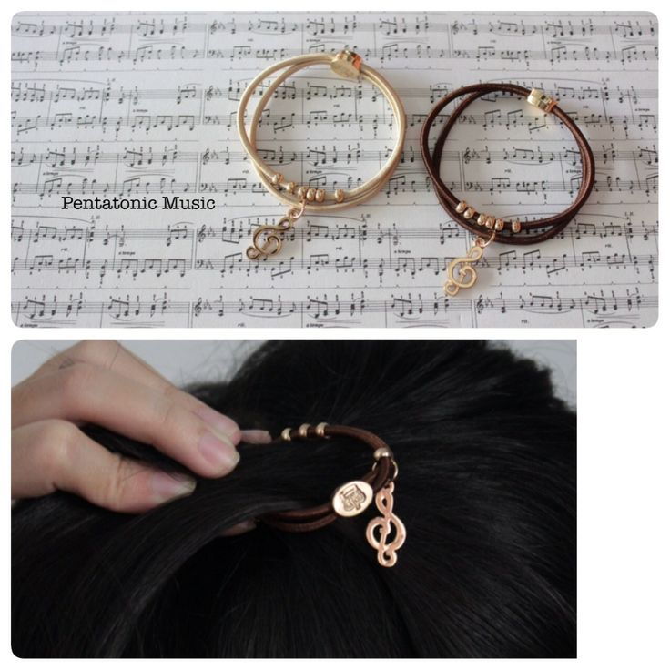Musical Clef Rope Bracelet / Hair Rope Band Price : 38.000 IDR Follow Instagram : pentatonicmusic