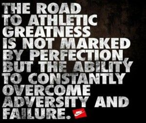 Motivational Quotes For Athletes Running | ... ability to constantly overcome adversity and failure. | Running Quotes