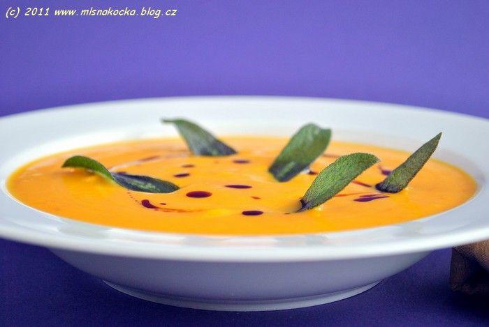 Dýňová polévka | Mlsná kočka