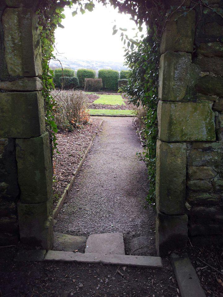 Alkincoats Park walled garden