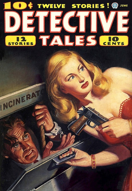 Detective Tales. Really good stories. Bought since they first came out.
