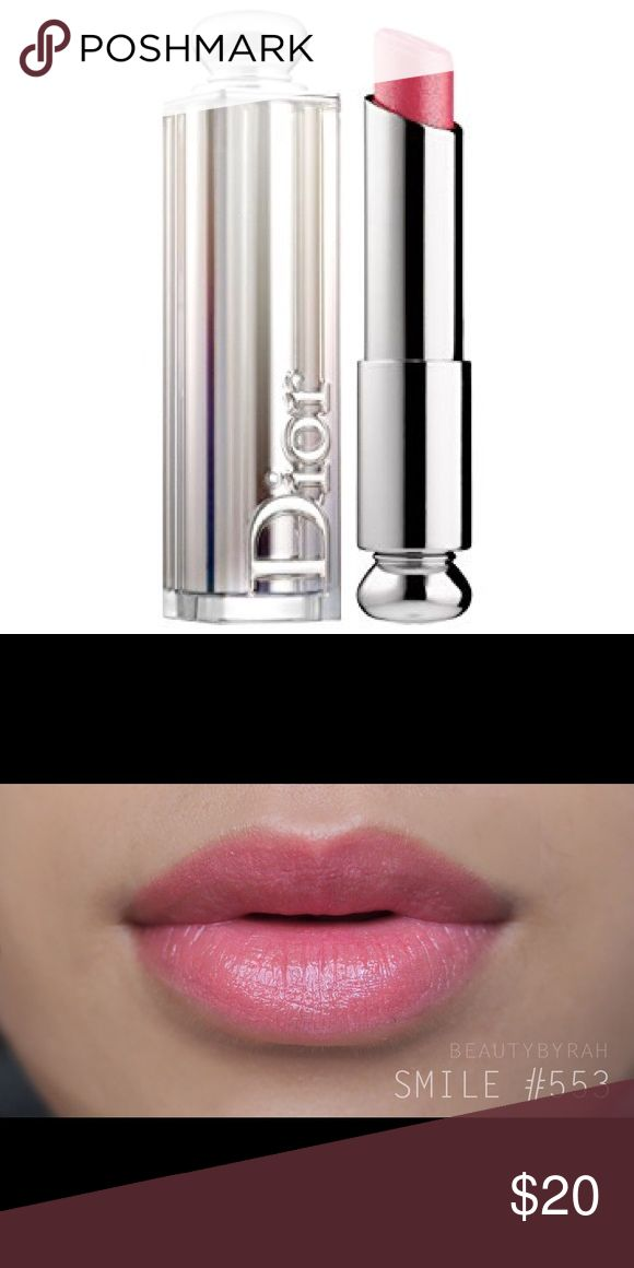 Dior Addict Lipstick in 'Smile' BNIB and NEVER BEEN USED! Have MANY other lipsticks colors just ask! MSRP $35             🔹Accepting OFFERS🔹                                       🔸ITEMS are priced higher for negotiations🔸                                                                               ♦️EVERYTHING I sell is 100% AUTHENTIC♦️                                          ‼️FINAL SALE‼️ NO RETURNS. NO TRADES Dior Makeup Lipstick