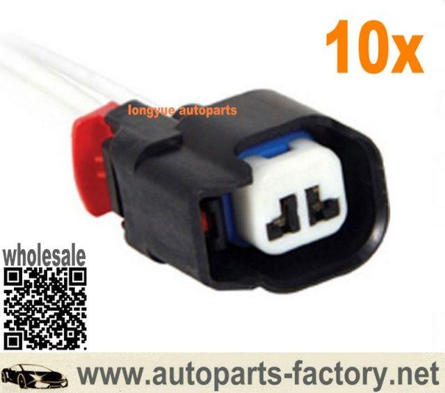 Longyue 10pcs Repair Connector Harness Abs Sensor Fuel Injector Jeep Chrysler Grand Cherokee Dodge 5183448 Chrysler Jeep Sensor