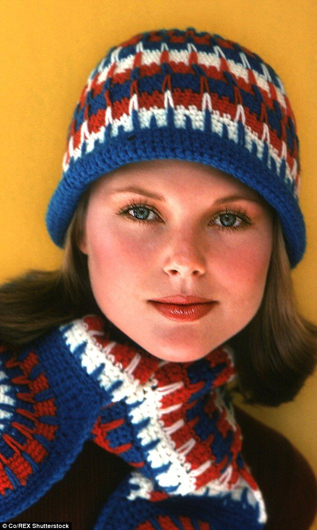 Gorgeous: Christie, seen above in a 1975 modelling shot, says her Botox looked…