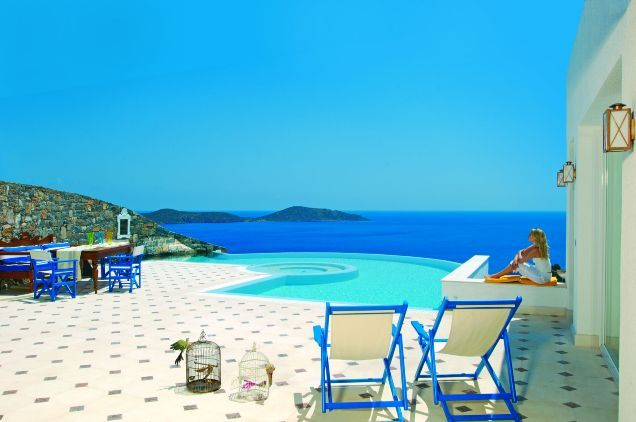 View to the endless blue...from your own private veranda!