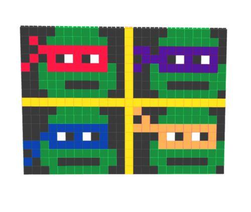 #mutantninjaturtles #fun wall build with everblocks  (scheduled via http://www.tailwindapp.com?utm_source=pinterest&utm_medium=twpin)