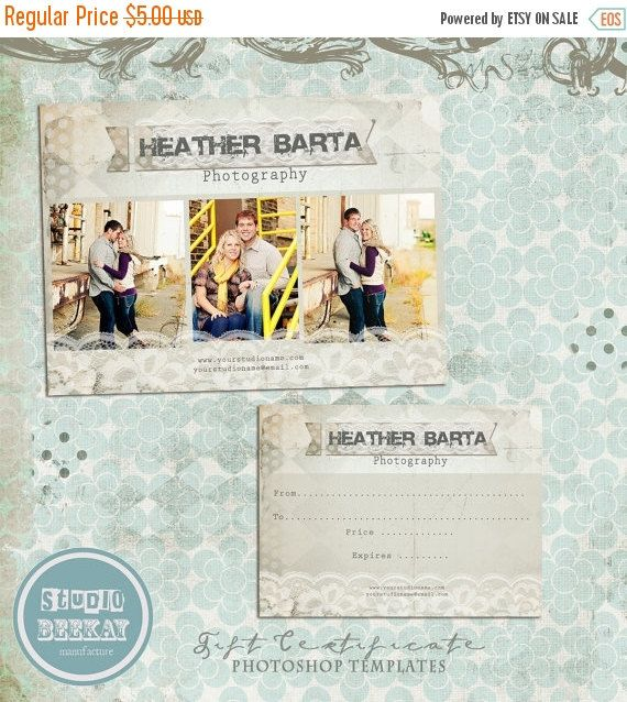 37 best Gift certificate ideas images on Pinterest Cards - photography gift certificate template