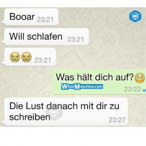 Lustige WhatsApp Bilder und Chat Fails 228 - Schlafen