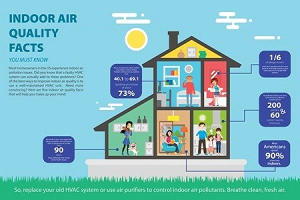 5 Indoor Air Quality Facts You Must Know Indoor Air Quality Indoor Air Air Quality