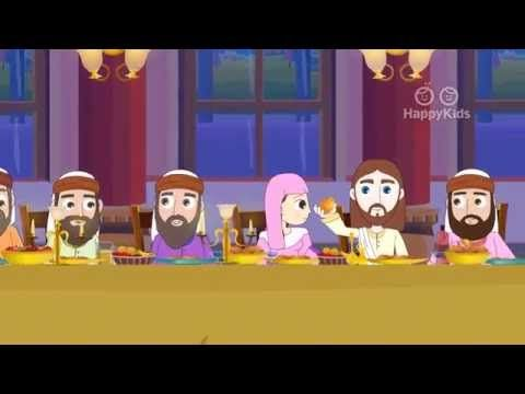 The Last Supper - Bible Stories For Children - YouTube