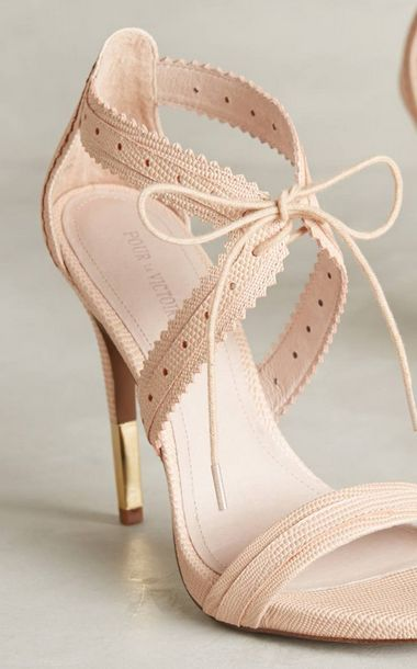 Pour la Victorie / Anthropologie #omgshoes #beautyinthebag #nudes