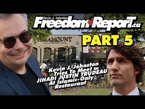 Kevin J Johnston Tries To Meet Justin Trudeau At Paramount Fine Foods - Part 5 - The CBC Lying To You