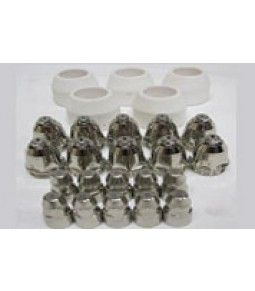 70AMP CONSUMABLES 25 PIECE SET 10 ELECTRODES 10 TIPS 1.5mm 5 CERAMIC CUPS  CA$85.00