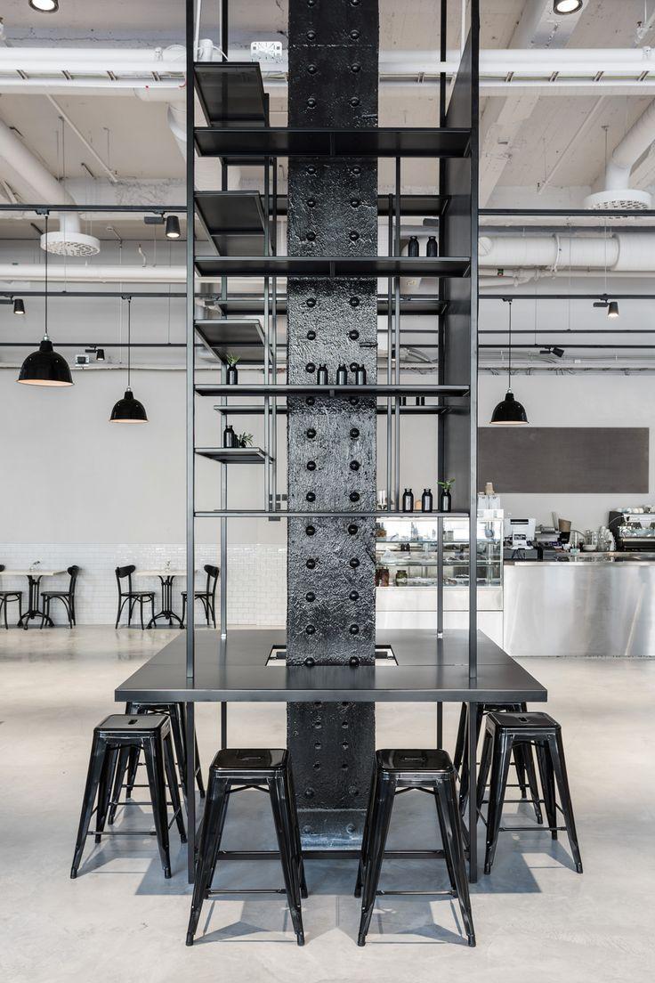 Restaurant Usine, Stockholm: Industrial interior_mikael axelsson