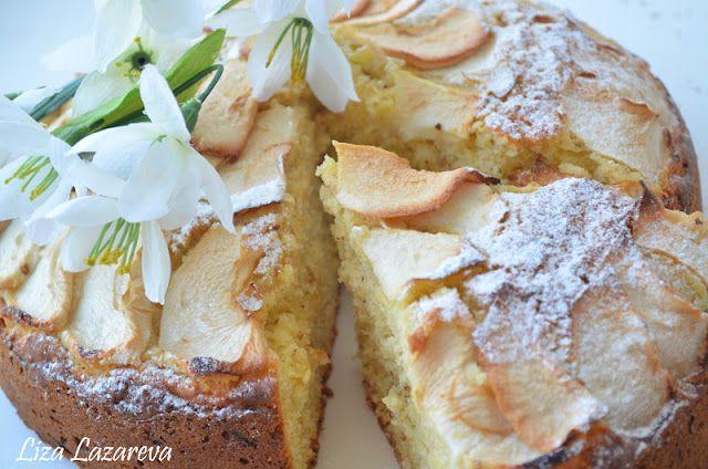 MY FOOD или проверено Лизой: Пышный творожно-яблочный пирог